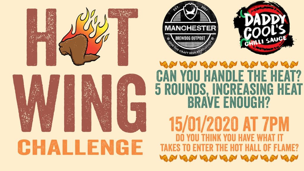 Hot Wing Challenge